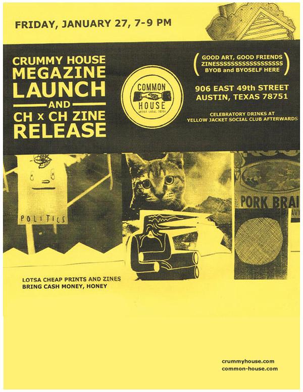 CrummyHouse-Megazine-Launch