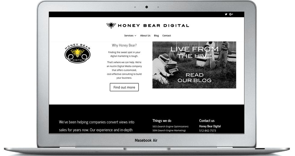 honebeardigital-website